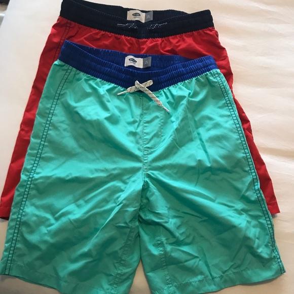 c9ce50b569d10 Old Navy Swim | Sale Bundle 2 Pairs Of Boys Shorts Nwt | Poshmark